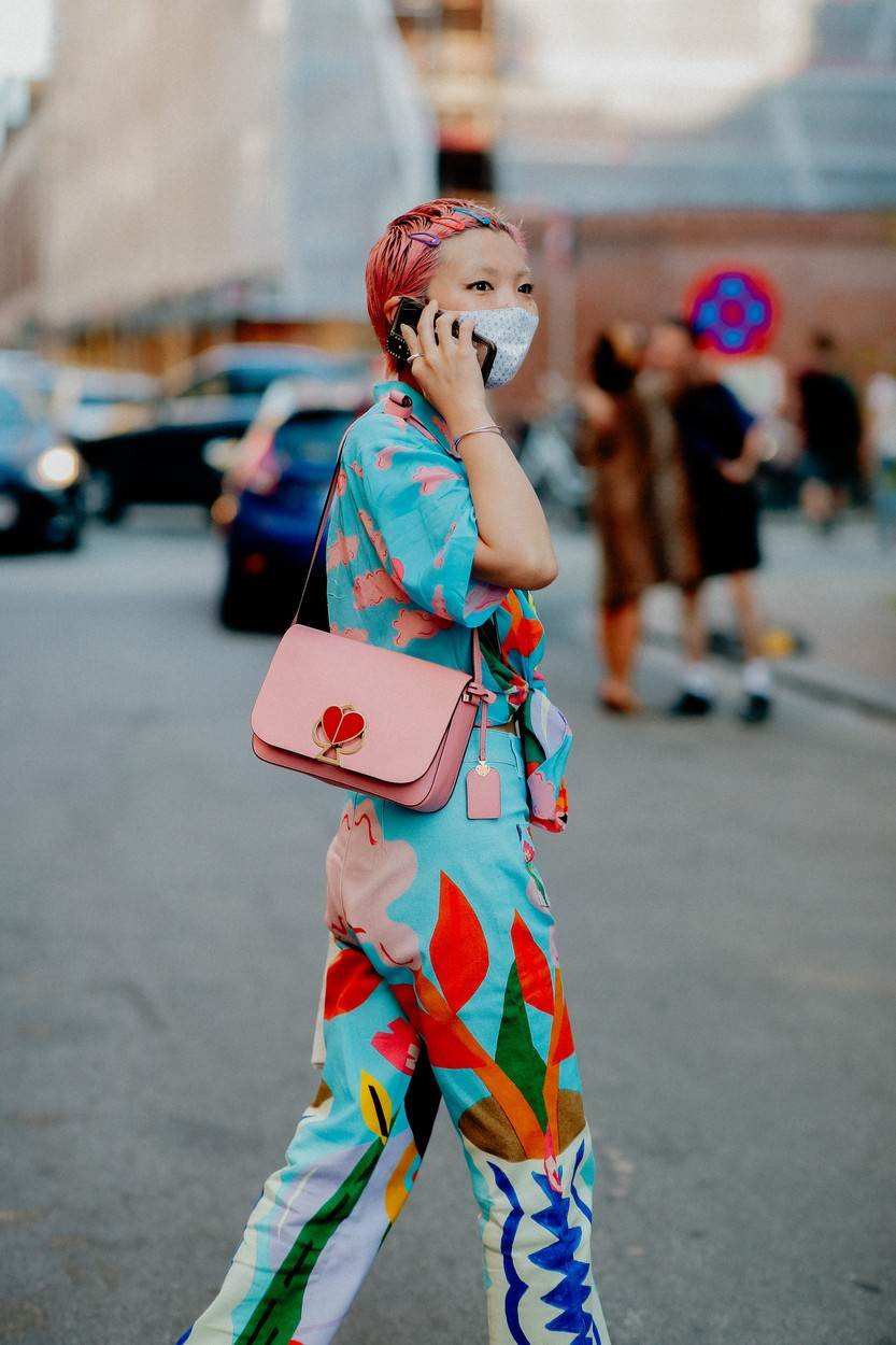 Bags;BarretteSlide;Blue;Blue Color;Costumes;Dyed Hair;Flower Look;Hairstyle;Mask;Pants;Pink;Pink (color);Pink (colour);Pink Color;Pink Colour;Purse;Purses;Shirt;category_code_fas