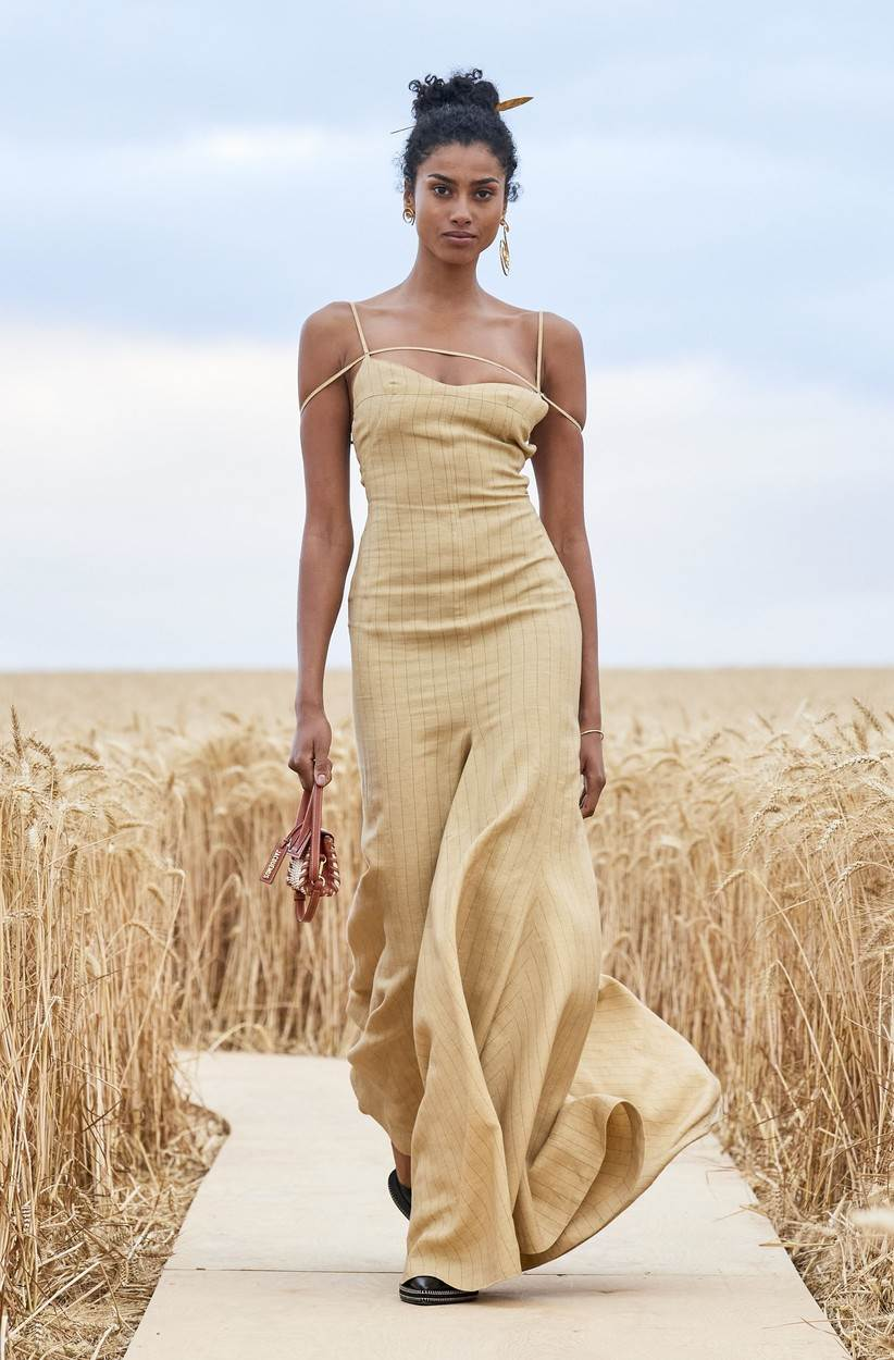 July 16, 2020, Paris, France: Jacquemus. Model On Catwalk, Men, Paris Fashion Week 2021 Man Ready To Wear For Spring Summer, Defile, Fashion Show Runway Collection, Pret A Porter, Modelwear, Modeschau, Man, Laufsteg Fr�¼hling Sommer France.catwalk fashion outlook beauty runway men paris.PARMSS21,Image: 544937108, License: Rights-managed, Restrictions: * Austria and France Rights Out *, Model Release: no, Credit line: FashionPPS / Zuma Press / Profimedia