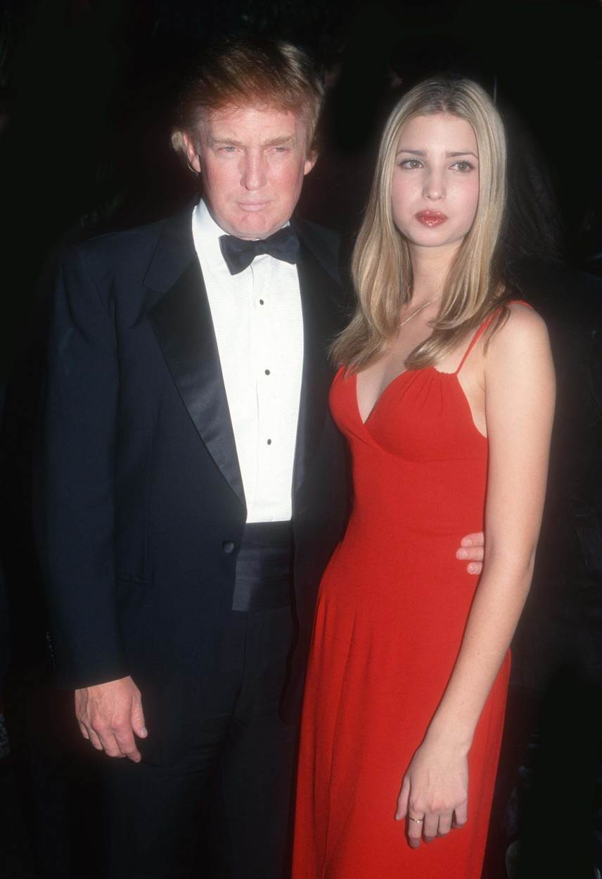 donald tramp i ivanka tramp